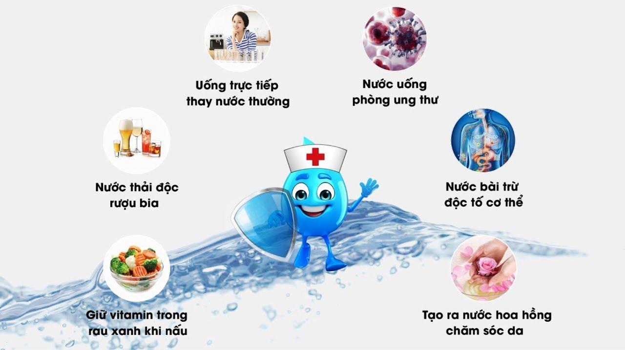 Nước uống ion Kiềm